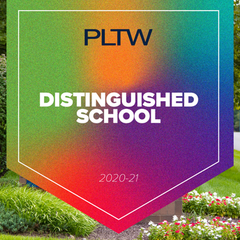LVA recognized as a Project Lead The Way  Distinguished School