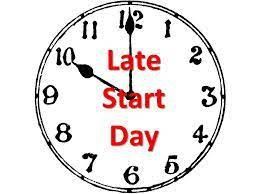 Late Start Days-August and September (9:55 a.m.)