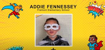 Most Inspiring Student -Addie Fennessey