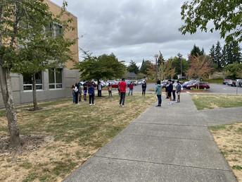 Outside Community Circle