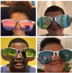 DIY Green Screen Sunglasses