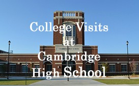 Check out the upcoming College Visits at Cambridge
