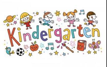 Welcome TK and Kindergarteners!
