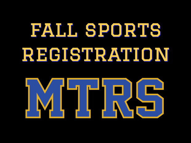 Fall Sports Registration MTRS click image to go right to FAMILYID site to sign-up