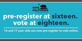 High School Voter Registration Weeks