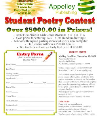 Poetry Contest!