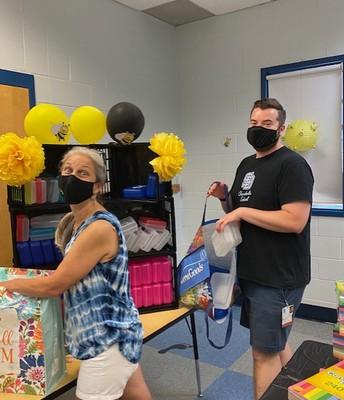 Mr. Diamond and Ms. McKegney, 5th grade teachers