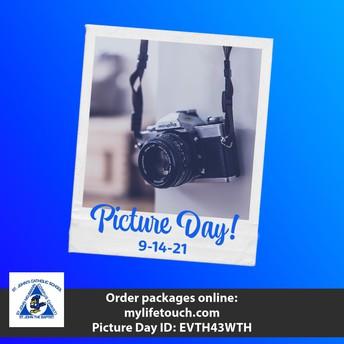 Picture Day is Tuesday Sept. 14