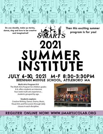SMARTS 2021 Summer Institute**