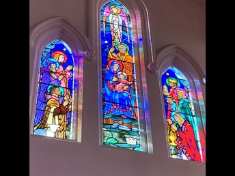 Some of our world famous stained glass windows