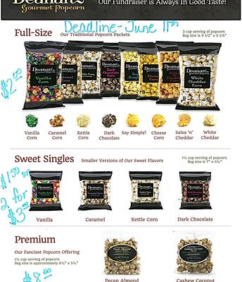 Popcorn Sales PTA Fundraiser