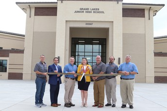 TISD Celebrates Opening of Grand Lakes Junior High School