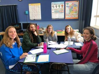 Senior French Students
