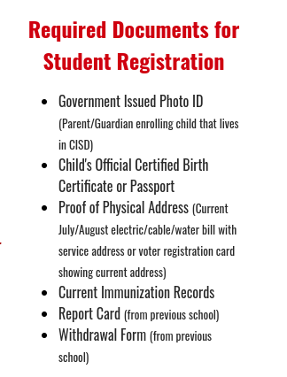 New and Returning Student Registration Opens Monday. July 19th!