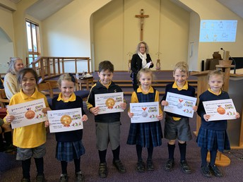 Cross Country Year 1 place winners