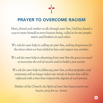 Prayer to Overcome Racism
