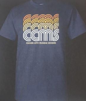 CCMS Retro Shirt $15