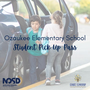 Dismissal time -order your district issued pick-up pass