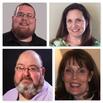 Drs K. Mike Casey, Erin Shaw, Jeff Whittingham, and Nancy Gallavan: