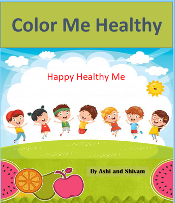 Healthy Habits Coloring Book for New Prospect Elementary School