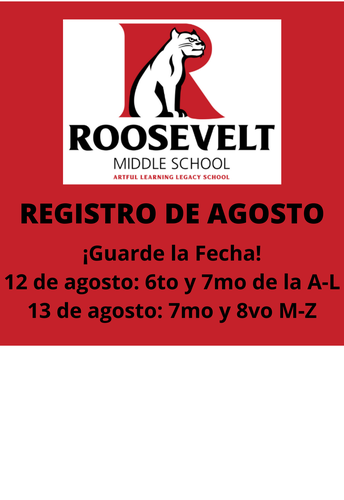 Registro Roosevelt 2021-2022