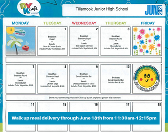 TJHS offers meal pickup thru June 18th