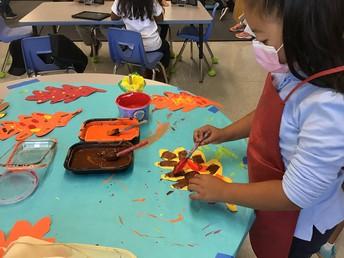 We love ART in Kinder!