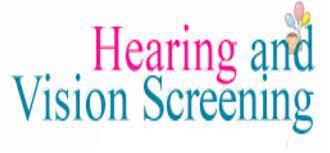Vision and Hearing Screenings