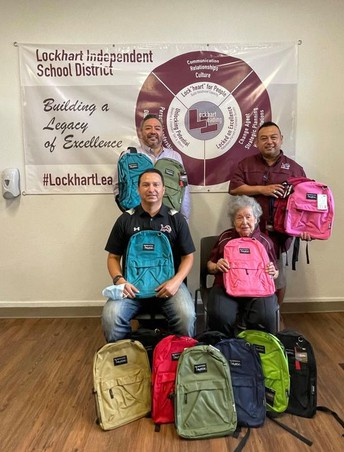 The Domitila H & Timoteo Juárez Sr, Excellence in Education Fund Donates 450 Backpacks