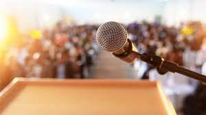 Scared about speaking in front of people?