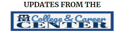 Get all your College and Career Center Information and Updates here!