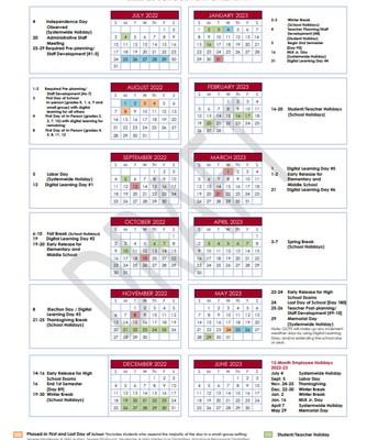 Calendar Option #1