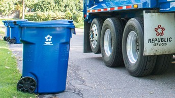 Harris Addition trash pick-up
