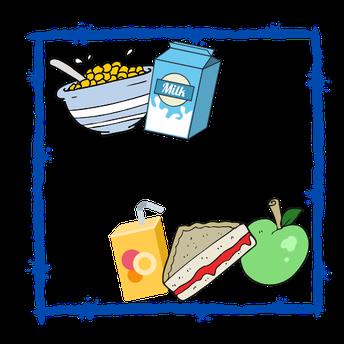 2021 - 2022 Lunch Schedule