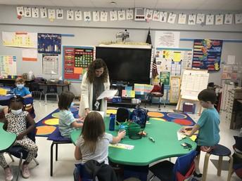 Mrs. Simpson's 1st Grade Class