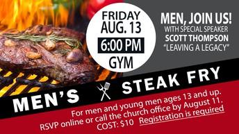 MEN'S STEAK FRY