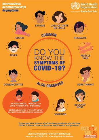 COVID-19 Self Screening/Autoevaluación de COVID-19