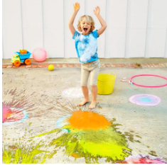 DIY Chalk Bombs