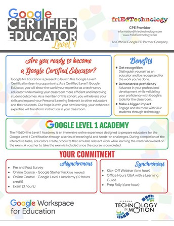 Are you ready to become a Google Certified Educator?