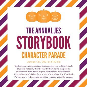 JES Storybook Character Parade
