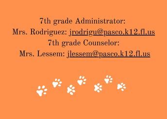 7th Grade Admin/Counselor