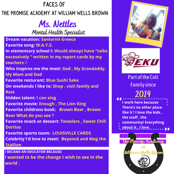 Ms. Nettles, District Mental Health Specialist