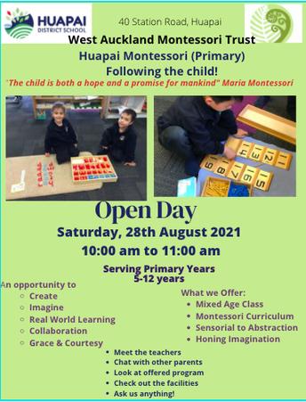 Montessori Open Day