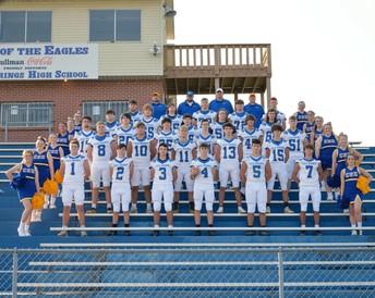 Varsity Football and Cheer