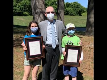 Peter B. Hoyt Citizenship Award Winners