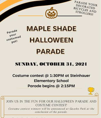Maple Shade Township Halloween Parade