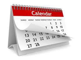 Fechas Importantes/Important dates