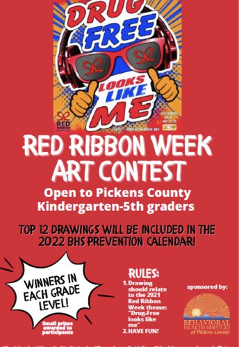 Celebrate with us! Red Ribbon Week & Poster Contest