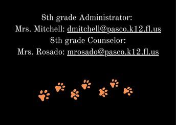 8th Grade Admin/Counselor