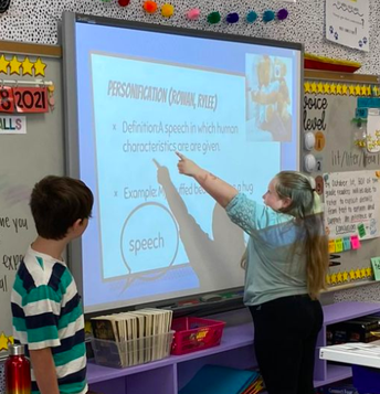 4th grade teaches personification!
